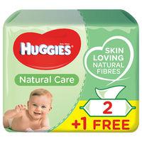 Влажные салфетки Huggies Ultra Comfort 56x3 блок