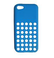 Husa de protectie Go Cool pentru iPhone 5C, Cyan
