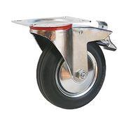 Колесо поворотное с тормозом – Ø100mm (4003-100)