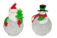 """Украшение светящееся LED """"Дед Мороз/Снеговик"""""""