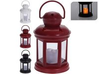 Felinar suspendabil cu lumanare LED 15.5X10сm, 3 culori