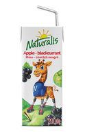 Naturalis нектар черная смородина-яблоко 0,2 Л