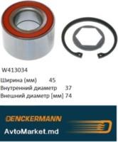 W413034 Подшипник ступицы задний CALIBRA 90- OMEGA 86 VECTRA 89-