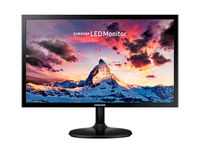 "21.5"" SAMSUNG ""S22F350FHI"", G.Black/Blue (1920x1080, 5ms, 200cd, LED Mega-DCR, HDMI+D-Sub) (21.5"" TN W-LED, 1920x1080 Full-HD, 0.248mm, 5ms (GtG), 200 cd/m², Mega ∞ DCR (1000:1), 16.7M, 178°/178° @CR>10, D-Sub + HDMI, External Power Adapter, Fixed Stand (Tilt -1/+22°), VESA 75x75, Magicbright, Magicupscale, Eco saving plus, Eye saver mode, Flicker free, Game mode,  Glossy-Black)"