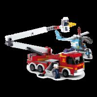 КОНСТРУКТОР Platform Fire Truck + Fire Helicopter 403pcs