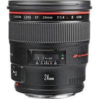 Canon EF 24mm f/1.4L II USM, Prime Lens