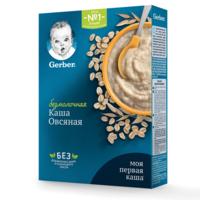 Каша овсяная без молока Gerber, с 5 месяцев, 180г