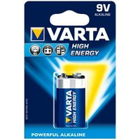 Батарейки Varta 9V High Energy 1 pcs/blist Alkaline, 04922 121 411