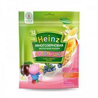 Heinz Любопышки каша многозерновая молочная слива, абрикос, черника, 12+мес. 200г