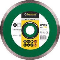купить Алмазный диск отрезной cплошной 1A1R 180*1,6*8.5*25,4 Baumesser Stein Pro в Кишинёве