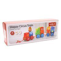 Деревянная игрушка Паровозик Happy Circus