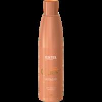 Balsam pentru păr cu nuanțe arămii, ESTEL Curex Color Intense, 250 ml., Înnoirea culorii