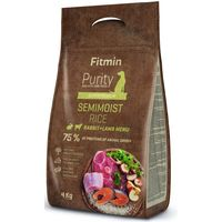 Сухой корм для собак Fitmin Purity Rice Semimoist Rabbit (4kg)