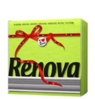 купить Renova Red Label Зеленые сервировочные салфетки (70) 8002240 в Кишинёве