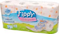 FIPPY Туалетная бумага 8 рулона 2 слоя 16.8m