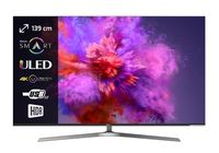 TV LED UHD Hisense H55U7A, Dark Gray