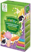 Heinz Лакомая кукурузная кашка тыква,чернослив, морковка (5m+)