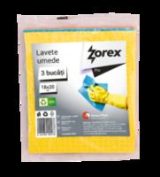 Lavete umede Zorex Pro, 3 bucăţi / set