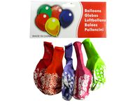 Набор шаров воздушных 5шт, с цветами