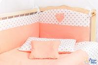 Set lenjerie Confort buline piersic 9 piese
