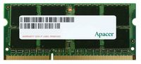 8GB DDR3 1600MHz SODIMM 204pin Apacer PC12800, CL11