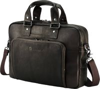 "14.0"" NB Bag - HP Elite Top Load Colombian Leather Case, Brown"