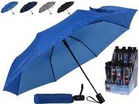 Зонт складной автомат одноцветный D110cm, 4 цвета