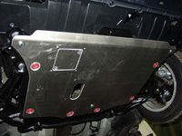 !         HondaCivic /fastbackFD2006 - 2010  ЗАЩИТА КАРТЕРА SHERIFF   Защита двигателя