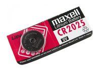 MAXELL Coin Battery CR2025 CARD, 1pcs