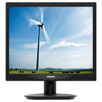 "Philips 17S4LSB, 17"" LED 1280x1024 VGA DVI"