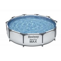 Bestway Бассейн метал каркас Steel Pro Max, 305x76 см