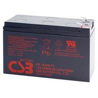 CSB 1234W, Battery 12V 9AH