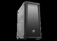 Case ATX Cougar MX340, w/o PSU,  Black