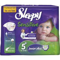 Подгузники Sleepy Sensitive гипоаллергенные 5+ Jumbo Junior+