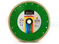 купить Алмазный диск Turbo 230x2.6x9x70+8 мм Baumesser Stein PRO в Кишинёве
