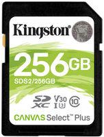 Сard de memorie Kingston SDXC 256Gb Card Class 10 UHS-I Kingston Canvas Select Plus (SDS2/256GB)