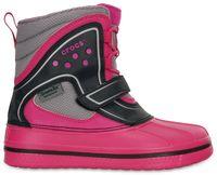 Kids' AllCast Waterproof Duck Boot (juniors') Candy Pink / Black