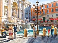 Castorland The Trevi Fountain C-300389