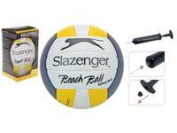 Мяч воллейбольный Slazenger+насос