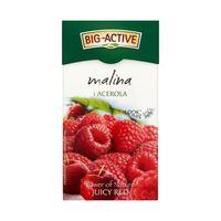 Чай фруктовый Big Active Raspberry & Acerola, 20 шт