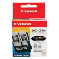 Inkjet-Cartridge E21004, For CANON BJC 2000/ 4000/ 5000/ C20/ C30/ C50/ C70/ C80 color
