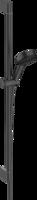 Pulsify Select Set de duș 105 3jet Relaxation cu bară de duș 90 cm, negru mat