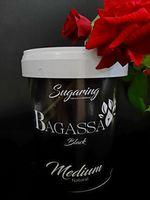 Bagassa Black Medium - натуральная, черная сахарная паста 1400 гр