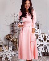Платье Дайкири розовое