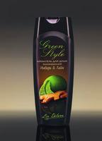 Крем-гель для душа тонизирующий «Имбирь&Лайм» Green Style