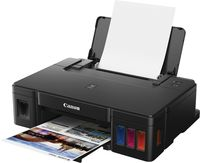 Printer Canon Pixma G1411, A4, 4800x1200dpi_2pl, ISO/IEC 24734 - 8.8 / 5.0 ipm, 64-275g/m2, LCD display_6.2cm, Rear tray: 100 sheets, USB 2.0, 4 ink tanks: GI-490BK (12 000 pages*),GI-490C,GI-490M,GI-490Y(7 000 pages*) & Colour: 2000 Photos*(10x15)