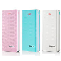 Romoss Sense 6 LED ,20000mAh (White)