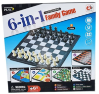 Шахматы магнитные 6в1 X S4404 (4231)