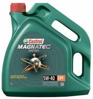 Моторное масло Castrol Magnatec Diesel DPF 5W-40 4L