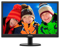 "19.5"" PHILIPS LED 203V5LSB26 Black"